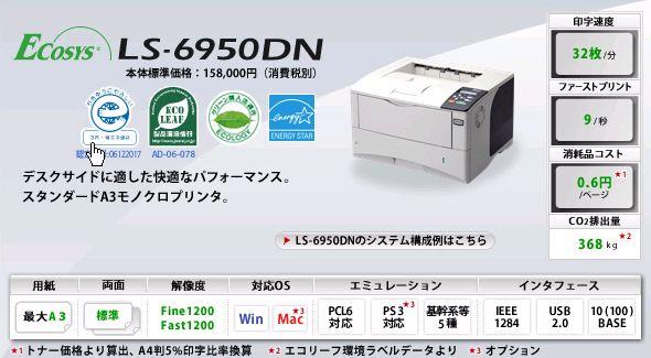 LS-6950DN