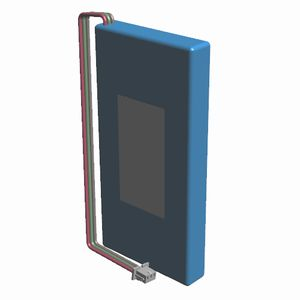 バッテリー標準品パック(3.7V 1100mAh 角型)